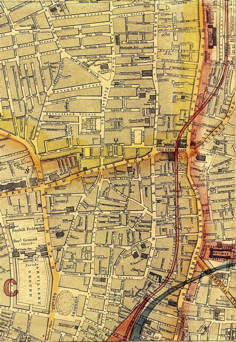 map  london   edward weller frgs
