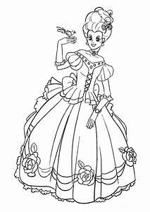 Ausmalbilder Prinzessin Kostenlos Malvorlagen Zum