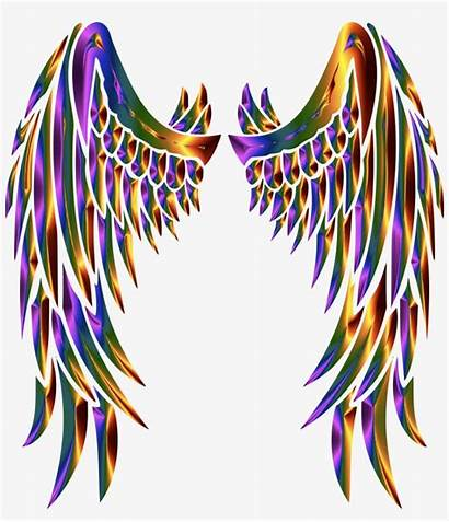 Wings Angel Clipart Angels Svg Feather Chromatic