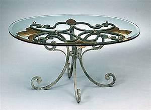 Table Basse En Fer Forgé : decoration fer forge interieur ~ Teatrodelosmanantiales.com Idées de Décoration