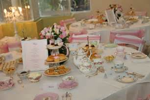 Afternoon High Tea Party Ideas