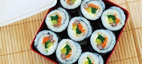 korean sushi image gallery korean sushi