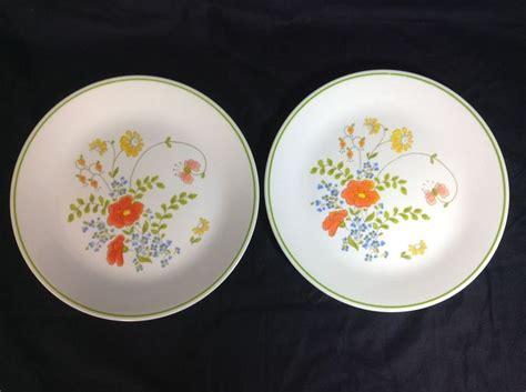 dinnerware tea orange poppy 17 best images about corelle by corning on