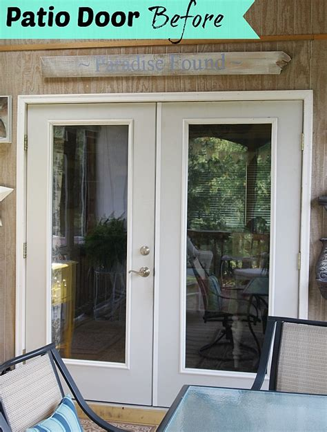 patio door suppliers paint before and after patio door makeover a cultivated nest
