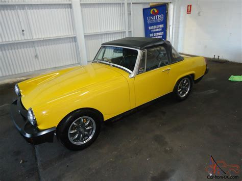Mg Midget Soft Top Convertible
