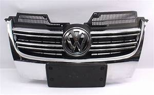 Genuine Vw Front Grill Grille Chrome 05