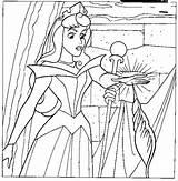 Punge Addormentata Pricking Princesscoloring sketch template
