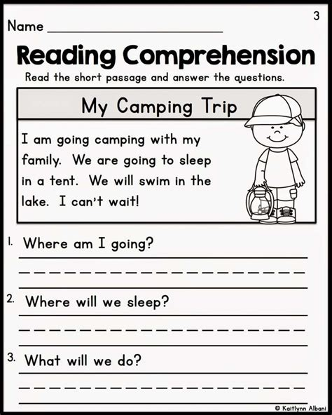 comprehension worksheets for grade 1 free pccatlantic