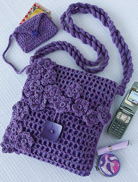 beautiful crochet purses  bags