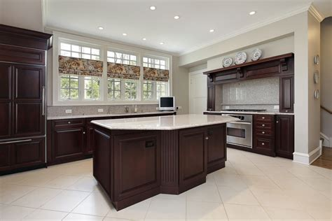 what color floor with dark cabinets great dark kitchen cabinets derektime design wooden