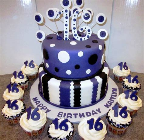 What better way to mark that special 16th birthday than with a gorgeous personalised sixteenth birthday cake. Pin on 16th birthday ideas