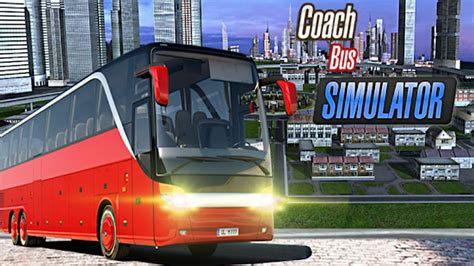 coach bus simulator driving   pc windows  mac apk   simulation games