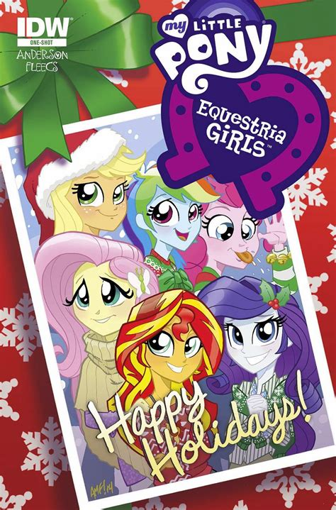 fim christmas store equestria daily mlp stuff canterlot high special appears for mlp comics