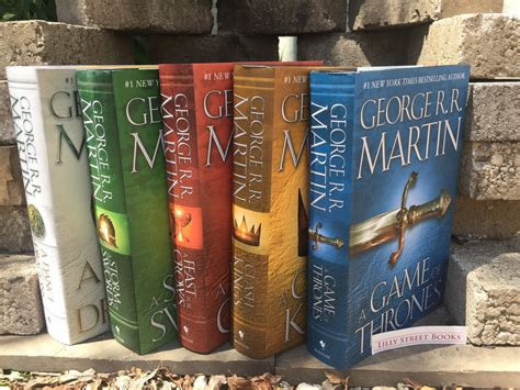 Song Of Ice And Fire Game Of Thrones Hardcover Set George