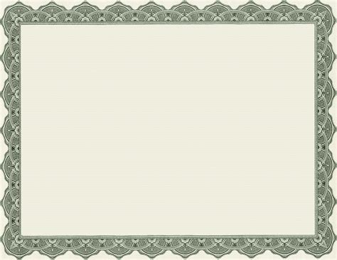 diploma border template 4 best images of printable of blank certificate borders