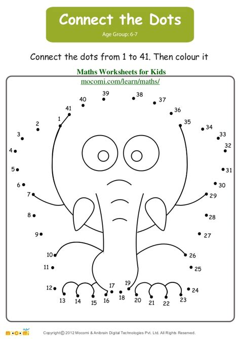 connect the dots maths worksheets for kids mocomi com