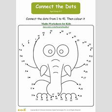Connect The Dots  Maths Worksheets For Kids Mocomicom