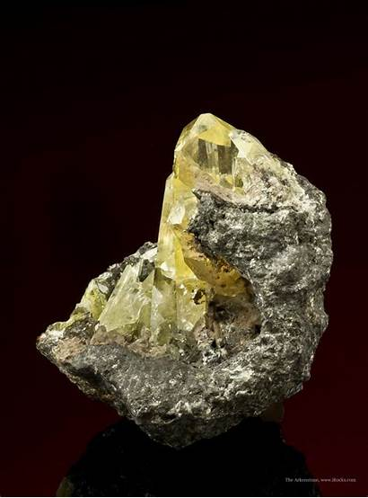 Mineral Specimen Specimens Morocco Anglesite Minerals Sold