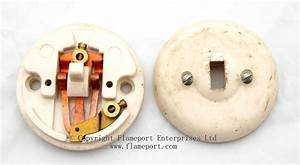 Rolls Plastic Light Switch And Backplate