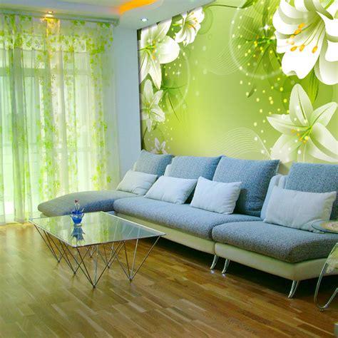 green living room wallpaper gallery