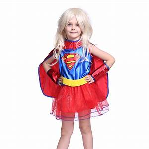 3-7-Year-Old Baby Girls Kids Supergirl Costume Superwoman ...