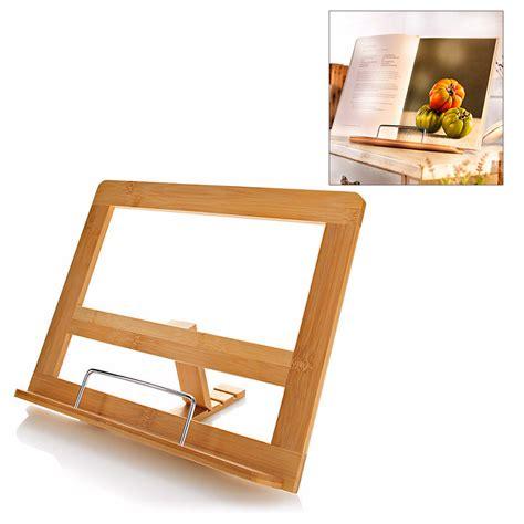 tablette pour recette de cuisine support livre de recettes de cuisine porte livre de