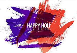 Free Holi Festival Vector Background - Download Free ...
