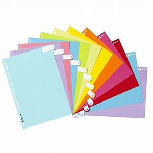 Otto a4 index dividers 12 tab jan dec ebay for 12 tab index dividers