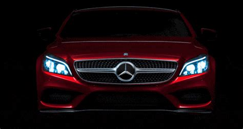 mercedes benz cls amg shows revamped nose
