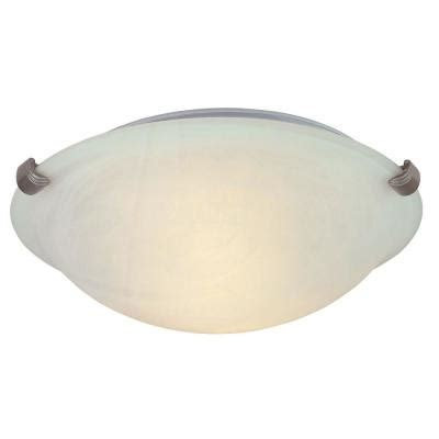 hton bay 2 light pewter ceiling flushmount hb1313 12