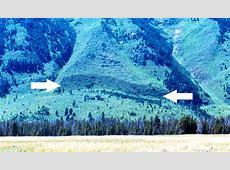 Geologic Activity Grand Teton National Park US
