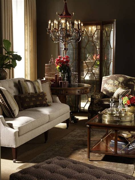 chocolate brown living room interiors and cozy