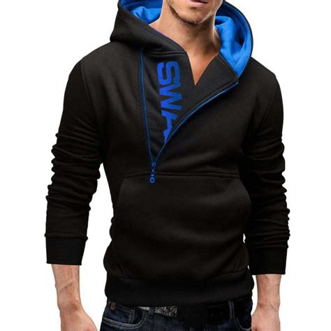 cool sweaters for guys 39 s cool winter warm sweater hoodies hooded pullover
