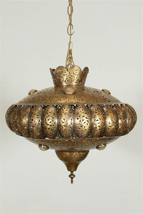 moroccan brass chandelier  alberto pinto style