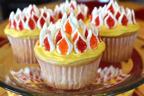 cuisine cupcake catholic cuisine flaming cupcakes for pentecost