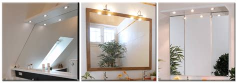 miroir salle de bain eclairage integre miroir simple atlantic bain