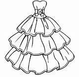 Coloring Pages Printable Barbie Educative Gown Dresses Ball Whitesbelfast Adult Sheets Educativeprintable Credit Save sketch template