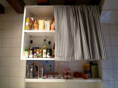 Offenes Regal Verdecken by How Do I Cover Open Shelves In The Kitchen Indusladies