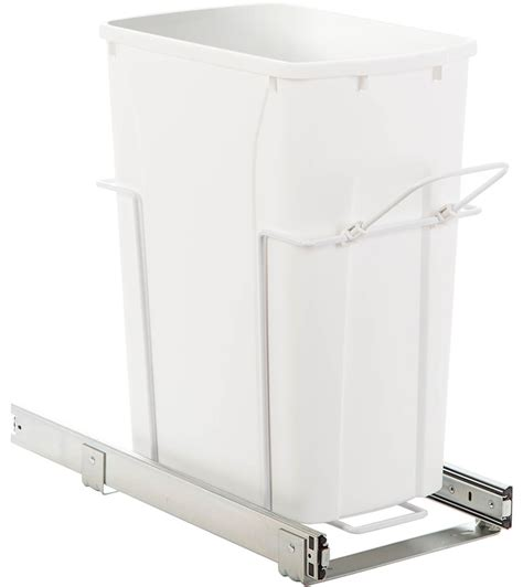 in cabinet trash can roll out pull out cabinet trash can 35 quart in cabinet trash cans