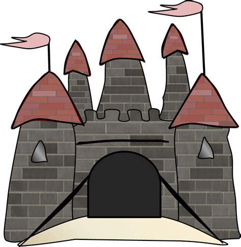 Image result for clipart castle