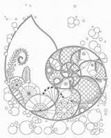 Spiral Hellboyfull sketch template