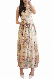 butterfly printed beach wedding guest attire sang maestro With beach wedding guest dresses 2017