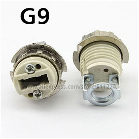 g9 ceramic l holder g9 base ceramic l holder socket adapter converter in