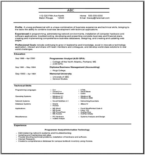 Resume Definitions by Combination Resume Define