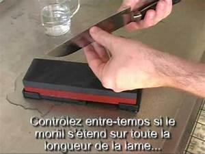 Comment Aiguiser Un Couteau : aff ter un couteau sur une pierre aff ter youtube ~ Melissatoandfro.com Idées de Décoration