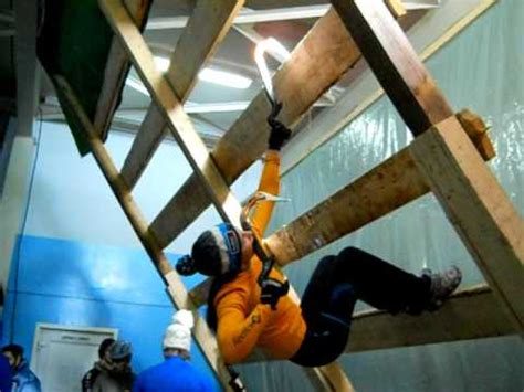 Maria Tolokonina Ice Climbing Training For Iwc Busteni