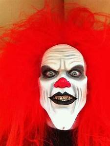 Red clown with very bad teeth, bad breath, and killer ...