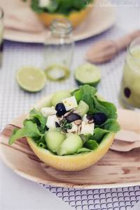 Melone Mit Schafskäse : butiksofie melonen schafsk se salat und ein gr ner melonen cocktail ~ Watch28wear.com Haus und Dekorationen