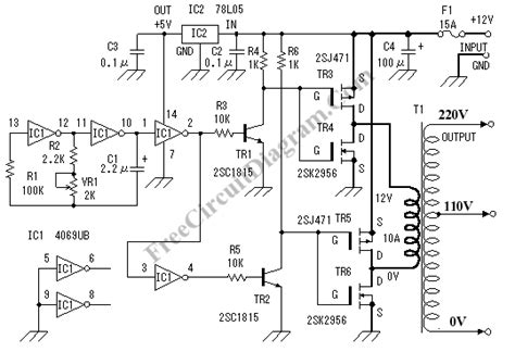Schematic Circuit Diagram Inverter Photos