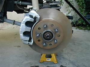 Custom Ground For Clearance  U0026 39 03 Wj Caliper Installed